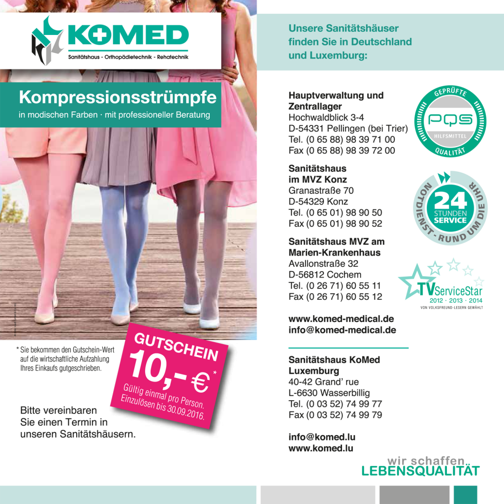 Website - Gutschein Kompression